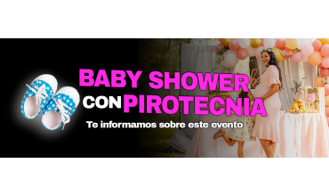 ▶ BABY SHOWER con PIROTECNIA